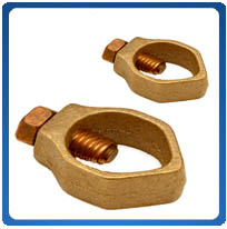 Bronze Ground Rod Clamps