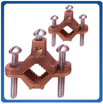 Bronze Grounding Pipe Clamps