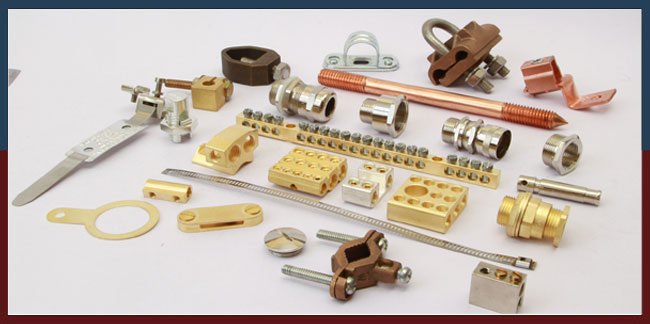 Electrical Accessories India brass parts copper parts